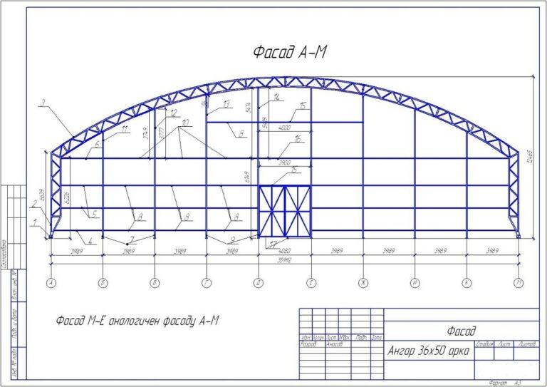 Разрешение на строительство ангаров