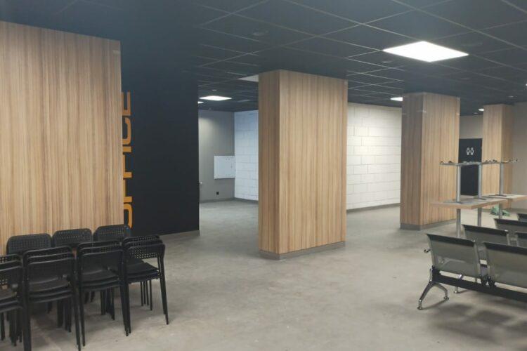 Внутренние помещения МИЦ Арена