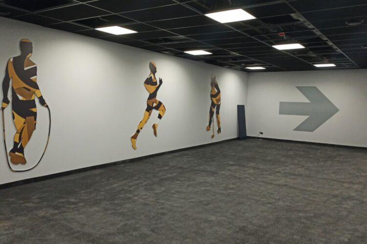 зал для спортивной подготовки