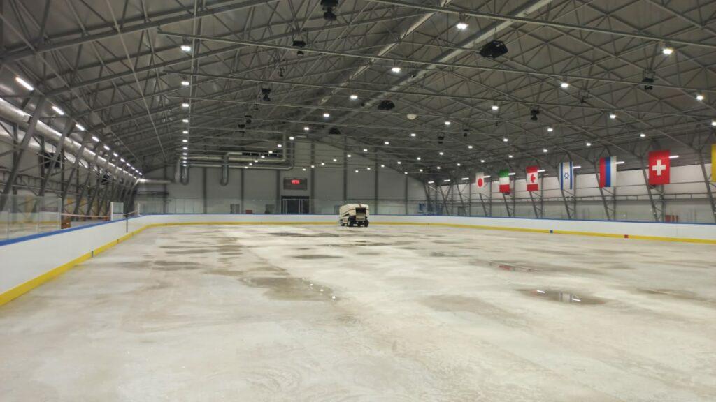 Завершено строительство центра фигурного катания «МИЦ Арена»