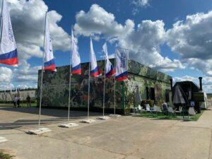 Выставочный павильон для Армия-2021
