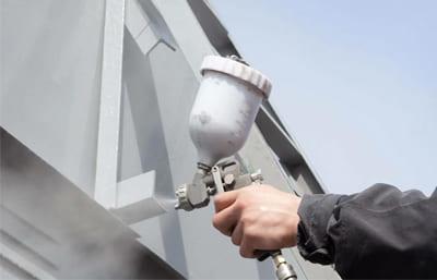 Нанесение огнезащиты для металлических конструкций