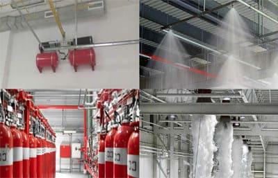 Системы пожаротушения ангаров